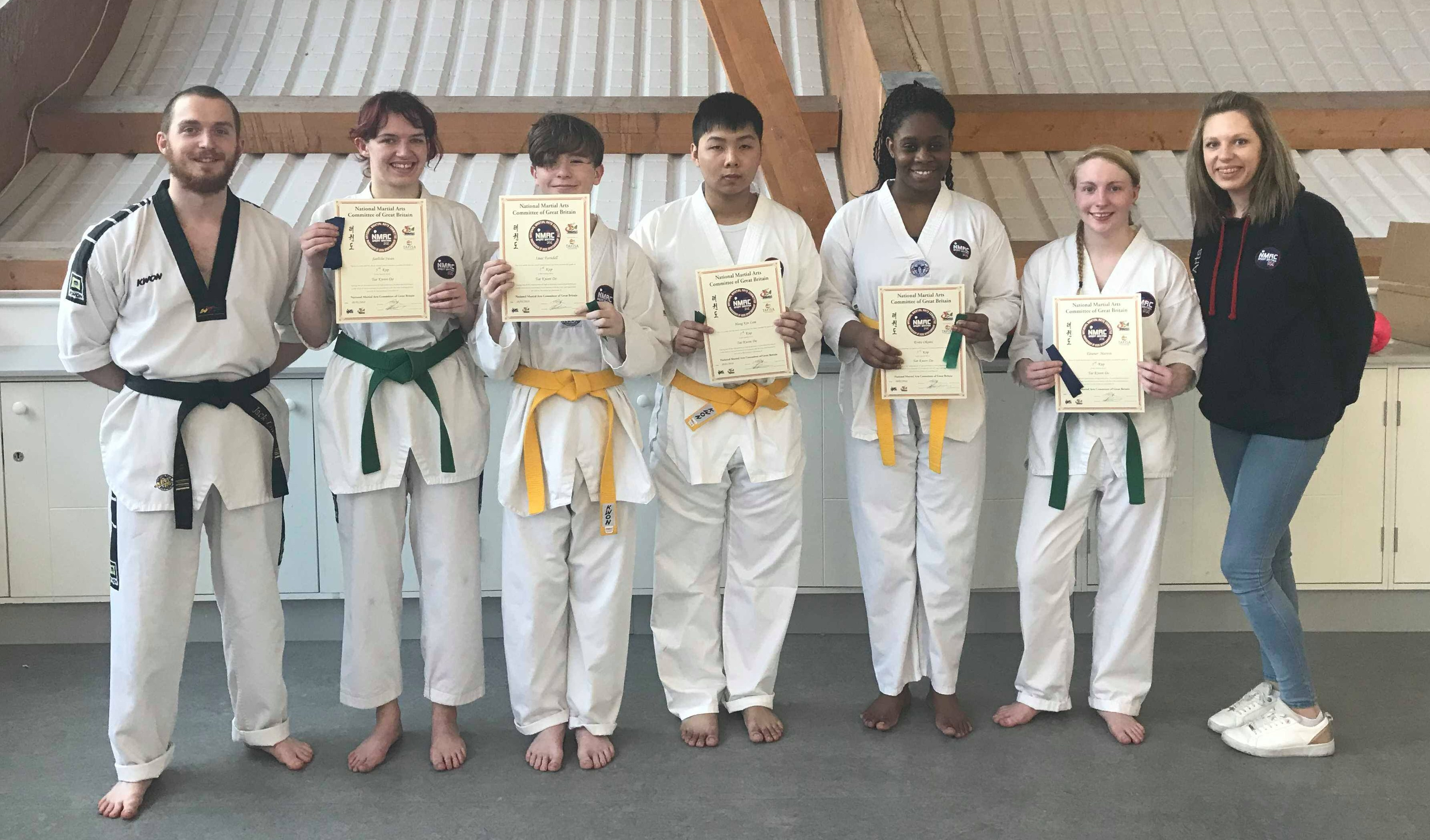 Strikers Taekwondo Portsmouth grading adult class