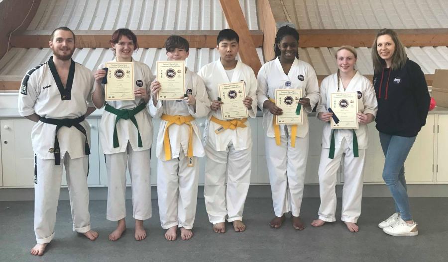 Strikers Taekwondo Portsmouth grading adult class