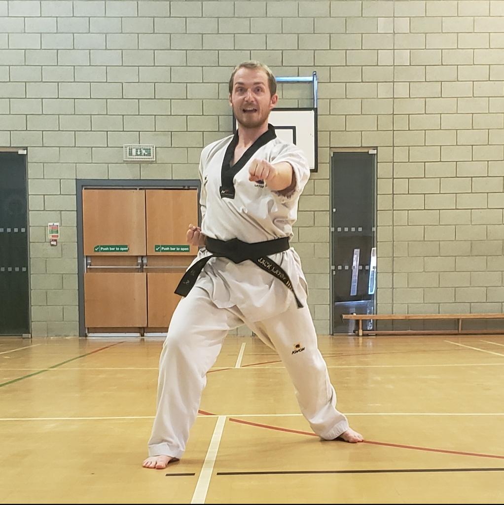 Strikers Taekwondo Coach Jack Latoy